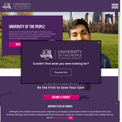 University of the People – The world's first tuition-free online university