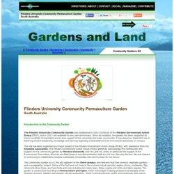 Flinders University Community Permaculture Garden South Australia