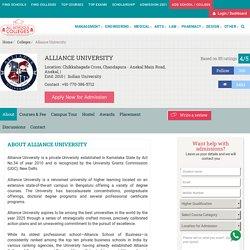 Alliance University Courses
