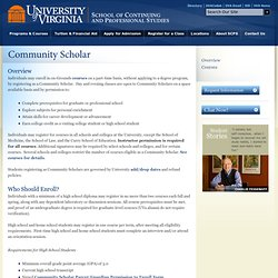 University of Virginia School of Continuing and Professional Studies
