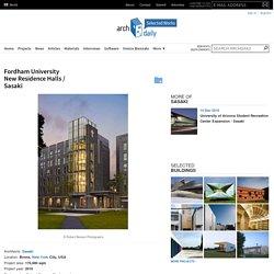 Fordham University New Residence Halls / Sasaki