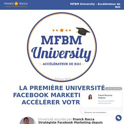 MFBM University - Stratégies Marketing