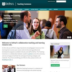 DePaul University Teaching Commons