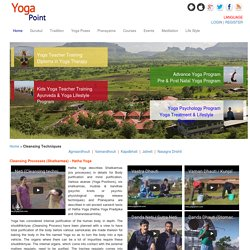 Yogapoint: Yoga Vidya Gurukul (University) - Cleansing Techniques