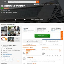 The NorthCap University, Sector 23a, Delhi - Itm University - Universities - Justdial