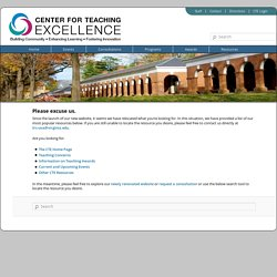 University of Virginia Teaching Resource Center