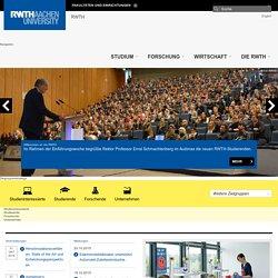 RWTH AACHEN UNIVERSITY - Rheinisch-Westfaelische Technische Hochschule
