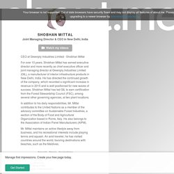 Shobhan Mittal - New Delhi, India, Greenply, University of Westminster