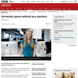 University opens without any teachers
