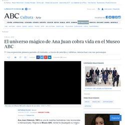 El universo mágico de Ana Juan cobra vida en el Museo ABC