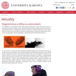 Univerzita Karlova v Praze - Aktuality
