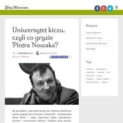 Uniwersytet kiczu, czyli co gryzie Piotra Nowaka? - Blog Minovum