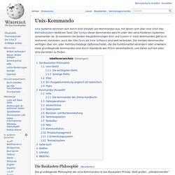 Unix-Kommando