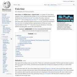 Unix time
