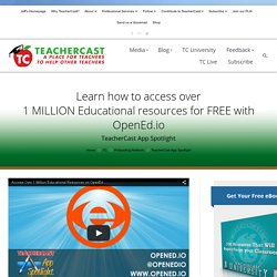 Unleash FREE Educational Resources with OpenEd.io