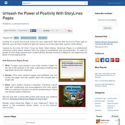 Unleash the Power of Positivity With StoryLines Pages