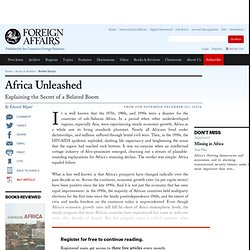 Africa Unleashed