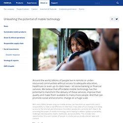Social investments - Nokia - Nokia.com