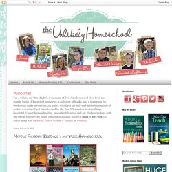 The Unlikely Homeschool: Middle School Reading List for Homeschool