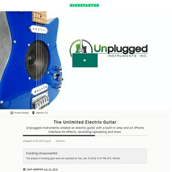 The Unlimited Electric Guitar by Andrew Penrose & Kickstarter