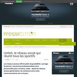 Unlish, le réseau social qui réunit tous les sportifs