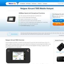 Unlocked Netgear Aircard 790s Mobile Hotspot