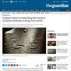 Is Egypt closer to unlocking the mystery of Queen Nefertiti in King Tut's tomb?