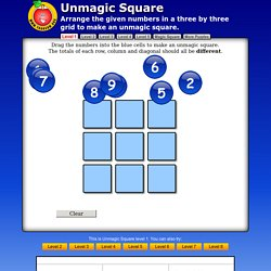 Unmagic Square