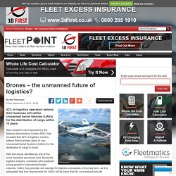 Drones - the unmanned future of logistics? - FleetPoint