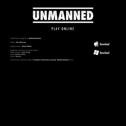 Unmanned: a Game by Molleindustria and Jim Munroe