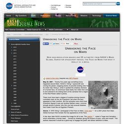 Unmasking the Face on Mars