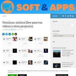 Unminus: música libre para tus vídeos y otros proyectos