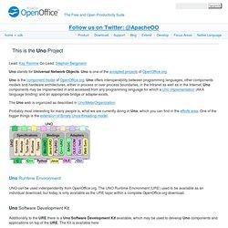 OpenOffice.org Uno Development Kit Project