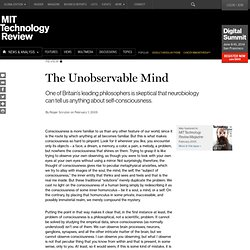 The Unobservable Mind
