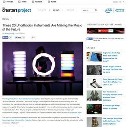 These 20 Unorthodox Instruments Are Making the Music of the Future