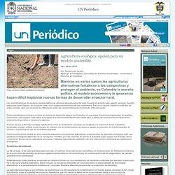 Agricultura ecológica, opción para un modelo sostenible