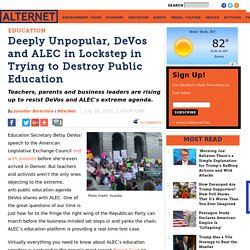 Devos/ALEC- now education just another money making opportunity