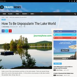 How to Be Unpopularin the Lake World