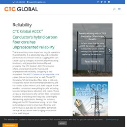 CTC Global's ACCC Conductor offers a new level of performance and unprecedented reliability