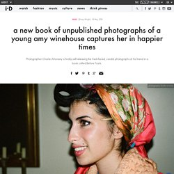 a new book of unpublished photographs of a young amy winehouse captures her in happier times