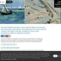 Unravel Van Gogh App