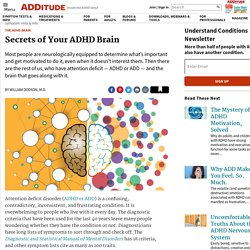 ADHD Brain: Unraveling Secrets of Your ADD Nervous System