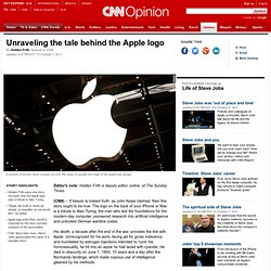 Unravelling the tale behind the Apple logo
