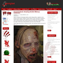Unreal Undead: Amazing Zombie Makeup Collection | Horror School