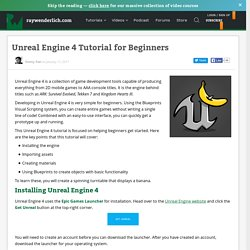 Unreal Engine 4 Tutorial for Beginners