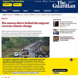 The unseen driver behind the migrant caravan: climate change