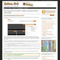 The Unstandard modifié : Onglets intégrés
