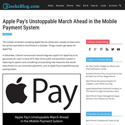 Apple Pay's Unstoppable March Ahead in the Mobile Payment System