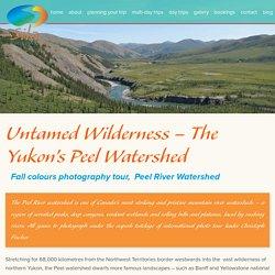Tour near Peel River Watershed, Yukon