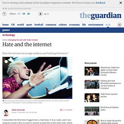 Untangling the web: Hate